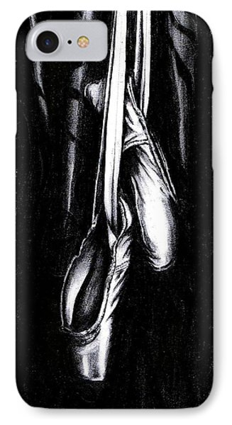 IPhone Case featuring the drawing Black And White  by Sarah Farren