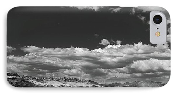 Black And White Small Town  IPhone Case by Jingjits Photography