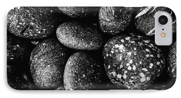 Black And White Stones One IPhone Case