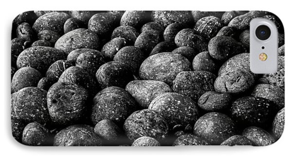 Black And White Stones Two IPhone Case