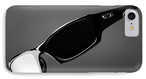 Black And White Sunglasses IPhone Case by Noah Katz