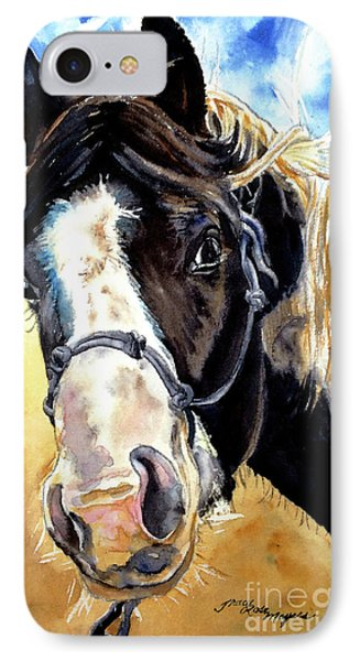 Black And White Phone Case by Tracy Rose Moyers