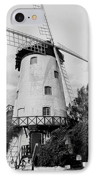 Black And White Windmill IPhone Case