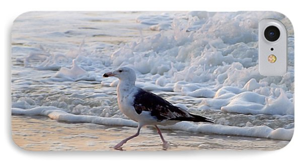 IPhone Case featuring the photograph Black-backed Gull by  Newwwman