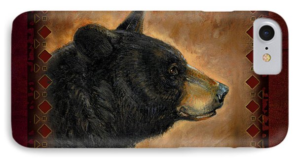 Black Bear Lodge IPhone Case by JQ Licensing