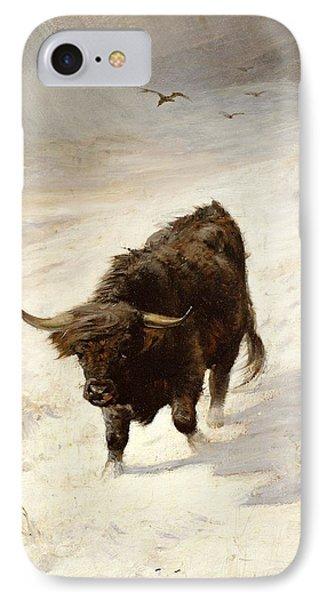 Black Beast Wanderer  IPhone Case by Joseph Denovan Adam