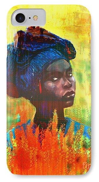 Black Beauty IPhone Case by Vannetta Ferguson
