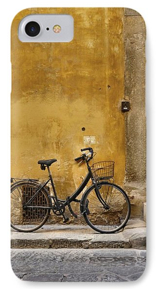 Black Bike IPhone Case by Patricia Strand
