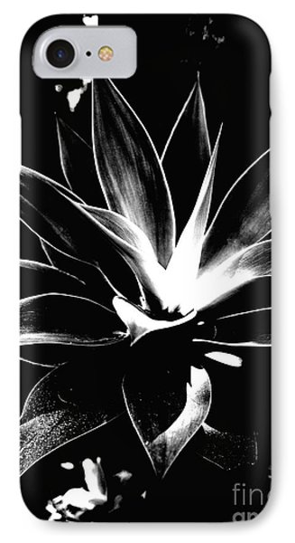 IPhone Case featuring the photograph Black Cactus  by Rebecca Harman