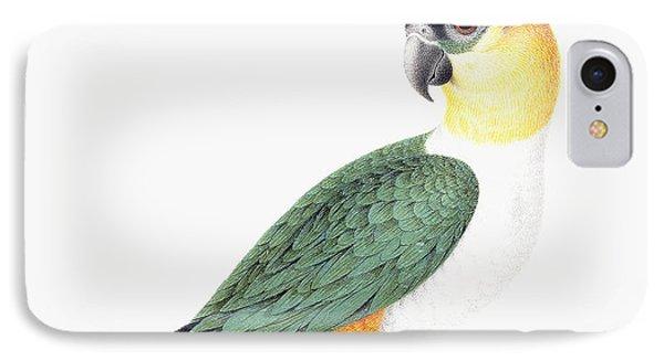 Black Capped Parrot IPhone Case