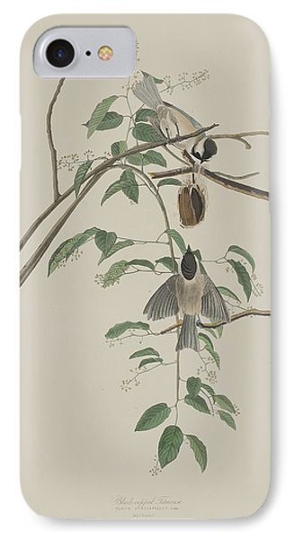 Titmouse iPhone 7 Case - Black-capped Titmouse by Dreyer Wildlife Print Collections