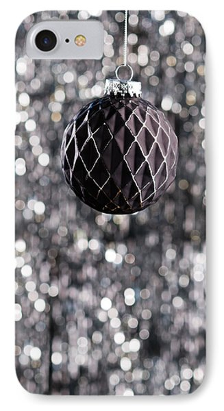 IPhone Case featuring the photograph Black Christmas by Ulrich Schade