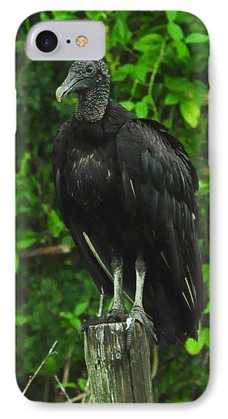 Black Cloak IPhone Case by Amy Spear