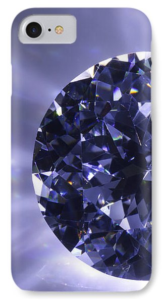 Black Diamond Shine Aura. Phone Case by Atiketta Sangasaeng