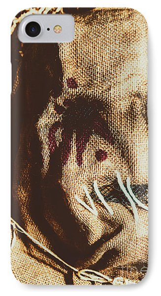 Black Eyes And Dried Out Hearts IPhone Case