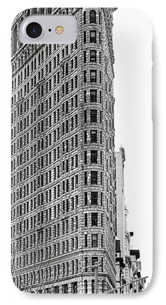 Black Flatiron Building II IPhone Case by Chuck Kuhn