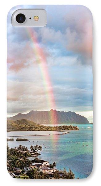 Black Friday Rainbow Phone Case by Dan McManus