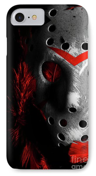 Hockey iPhone 7 Case - Black Friday The 13th  by Jorgo Photography - Wall Art Gallery