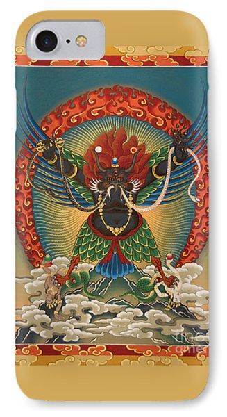 Black Garuda - Tsasum Tersar IPhone Case by Sergey Noskov