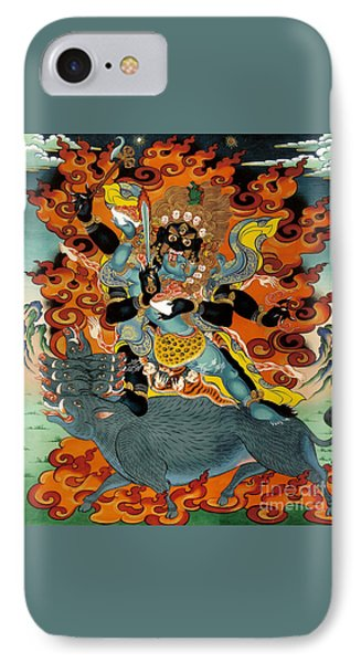 Black Hayagriva IPhone Case by Sergey Noskov
