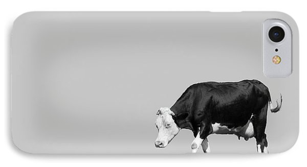 Black Hereford IPhone Case by Wim Lanclus