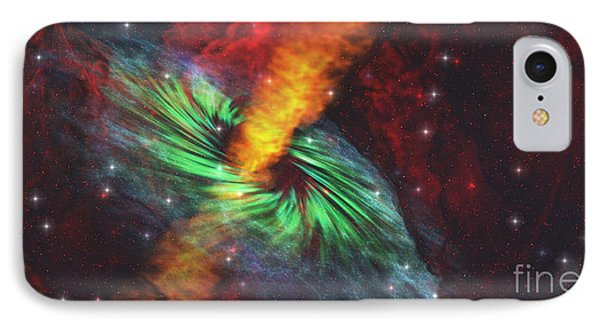 Black Hole In Cosmos IPhone Case