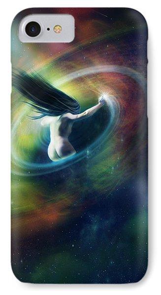 Black Hole Phone Case by Mary Hood