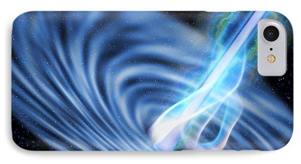 Black Hole Radiation IPhone Case