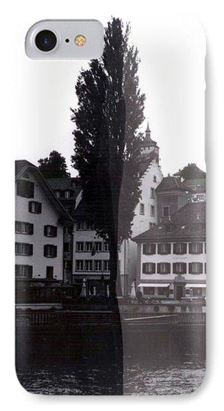 Black Lucerne IPhone 7 Case by Christian Eberli