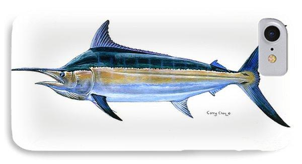 Black Marlin  IPhone Case by Carey Chen
