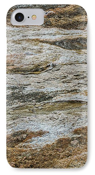 IPhone Case featuring the photograph Black Obsidian Sand And Other Textures by Sue Smith