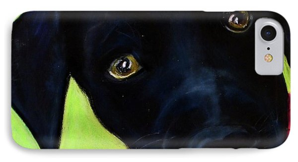 Black Puppy - Shelter Dog IPhone Case