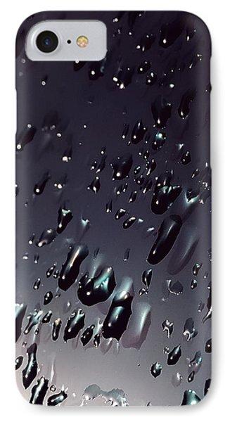 Black Rain IPhone Case by Steven Milner