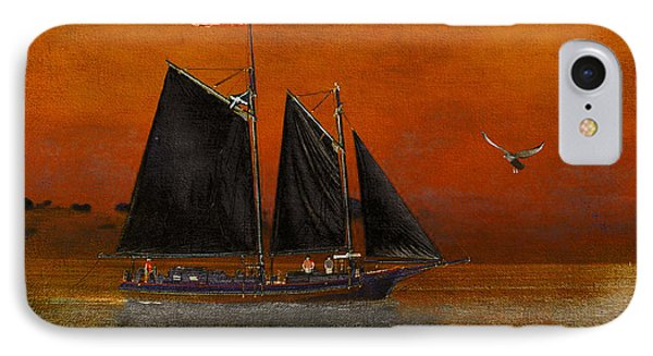 IPhone Case featuring the photograph Black Sails In The Sunset by Chris Armytage