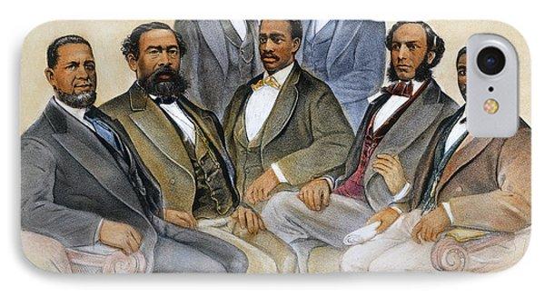 Black Senators, 1872 Phone Case by Granger