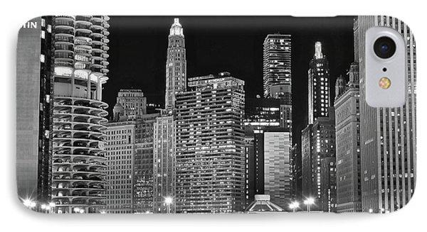 Black Sky In Chicago IPhone Case