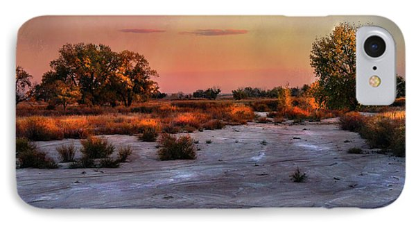 IPhone Case featuring the photograph Black Squirrel Creek Fall Scape by Ellen Heaverlo