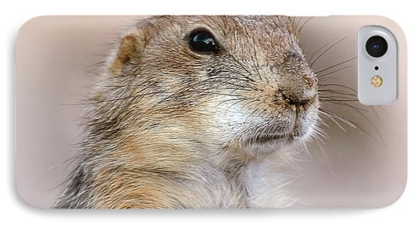 IPhone Case featuring the photograph Black Tail Prairie Dog by Elaine Malott