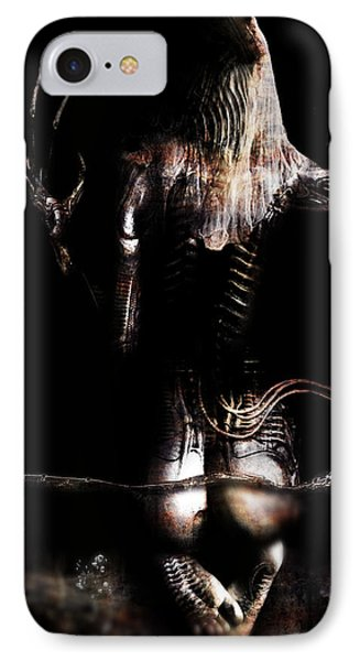 Black Tears IPhone Case by Pharaoh Laboa