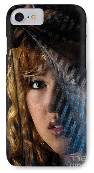 Black Veil Phone Case by Oleksiy Maksymenko