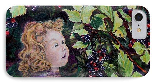 Blackberry Elf Phone Case by Susan Moore