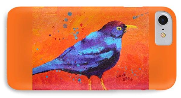 Blackbird II IPhone Case by Nancy Jolley
