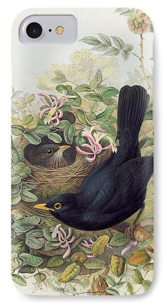 Blackbird,  IPhone 7 Case by John Gould