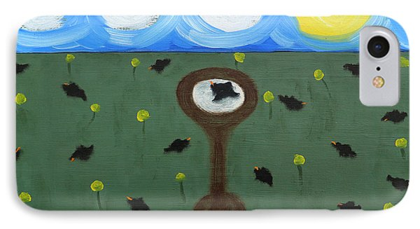 Blackbirds Phone Case by Patrick J Murphy