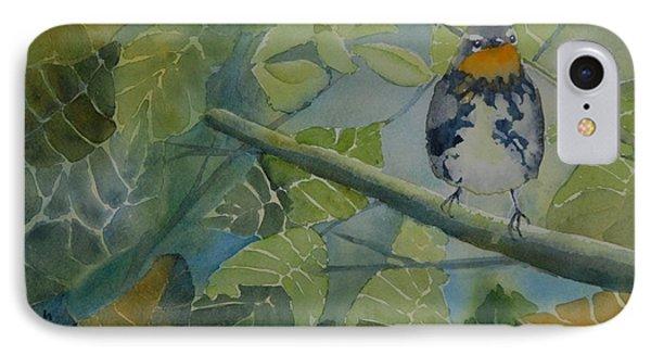 Blackburnian Warbler I IPhone Case