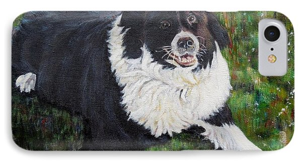 IPhone Case featuring the painting Blackie by Marilyn  McNish