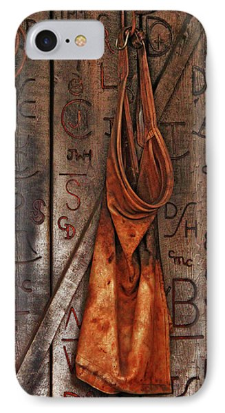 IPhone Case featuring the photograph Blacksmith Apron by Rowana Ray