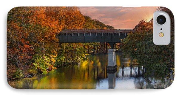 Blackstone River Bridge IPhone Case