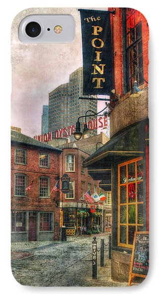 Blackstone Square - Union Oyster House - Boston IPhone Case by Joann Vitali