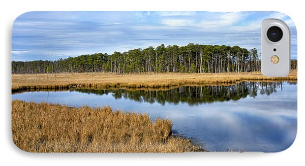 Blackwater National Wildlife Refuge In Maryland IPhone Case by Brendan Reals
